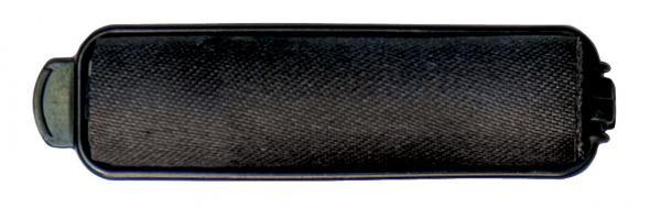 Diane - Rouleaux éponges en satin 5/8'' noirs 14/paquet