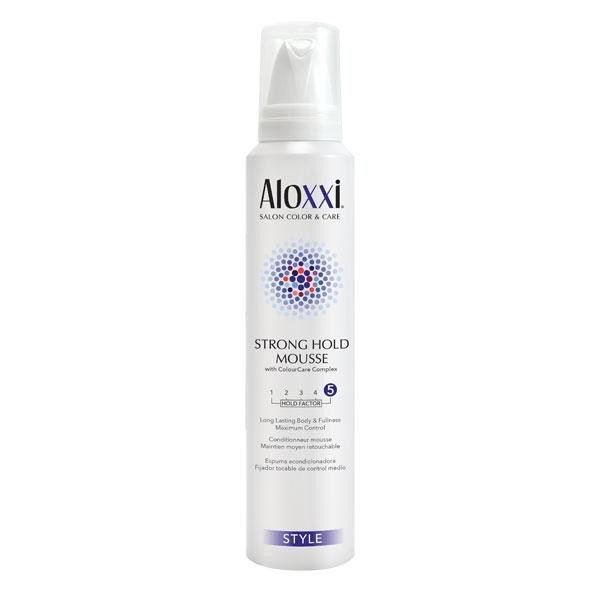 Aloxxi - Strong Hold Mousse 6.7oz
