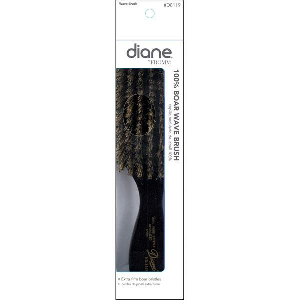 """Diane - Brosse Wave 100% sanglier moyenne 7 rangées 9"""""""