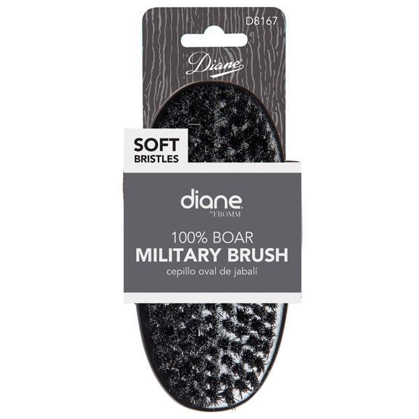 "Diane - Brosse Military 100% sanglier doux 9 rangée 5"""