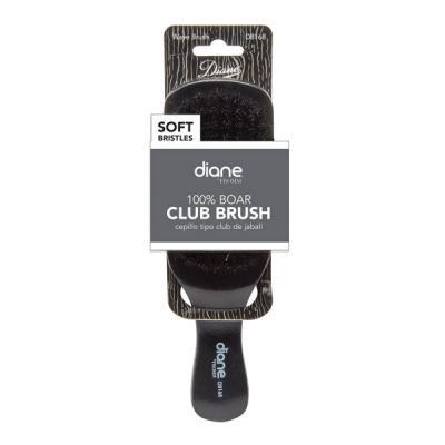 "Diane - Brosse Club 100% sanglier doux 9 rangées 7"""