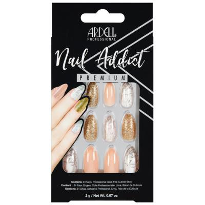 Ardell - Nail Addict Pink Marble and Gold