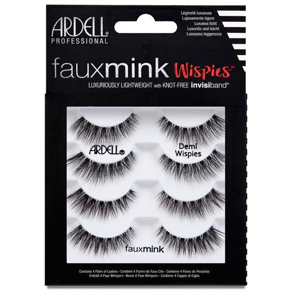 Ardell - Faux Mink Demi Wispies - 4 pack