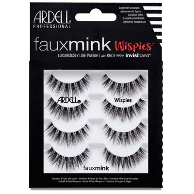 Ardell - Faux Mink Wispies - 4 pack