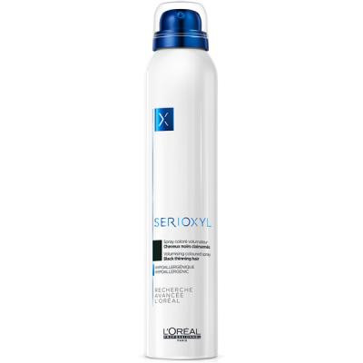 L'Oréal Professionnel - Serioxyl volumising coloured spray black 6.7oz
