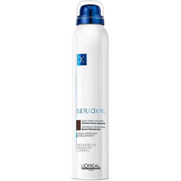L'Oréal Professionnel - Serioxyl volumising coloured spray brown 6.7oz