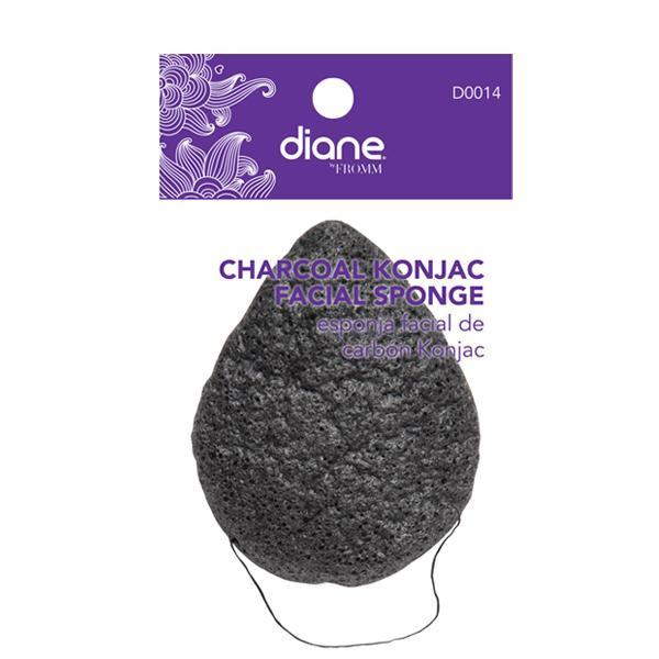 Diane - Charcoal Konjac facial sponge