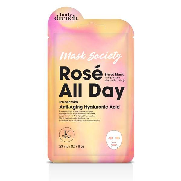 Body Drench - Rose all Day sheet mask 0.77oz