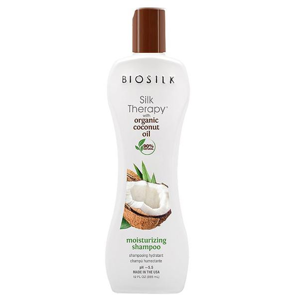 Biosilk - Moisturizing shampoo Coconut oil 5,64oz
